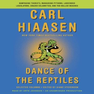 Dance of the Reptiles audiobook cover art