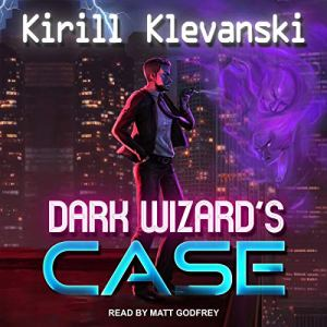 Dark Wizard's Case audiobook cover art