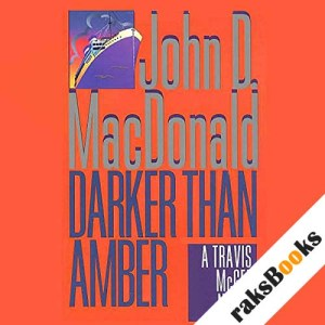 Darker Than Amber audiobook cover art