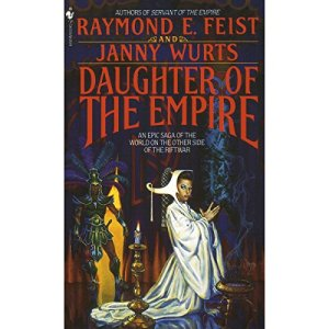 Daughter of the Empire audiobook cover art