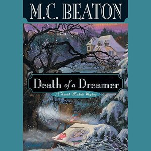 Death of a Dreamer audiobook cover art