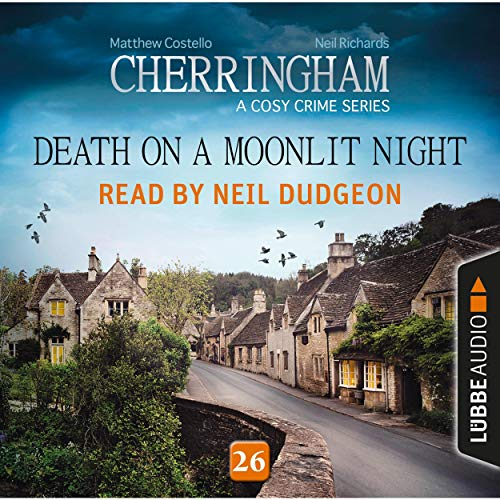 Death on a Moonlit Night audiobook cover art