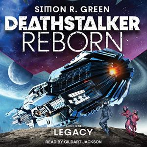 Deathstalker Legacy audiobook cover art