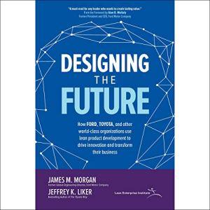 Designing the Future audiobook cover art