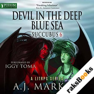 Devil in the Deep Blue Sea audiobook cover art