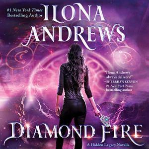 Diamond Fire audiobook cover art