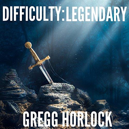 Difficulty: Legendary audiobook cover art