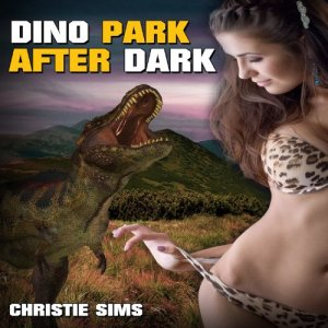 Dino Park After Dark audiobook cover art