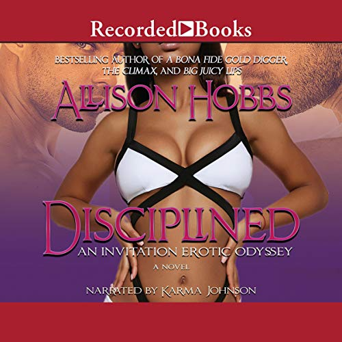 Disciplined audiobook cover art