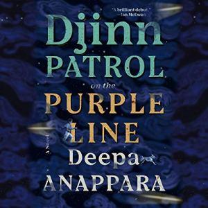 Djinn Patrol on the Purple Line audiobook cover art