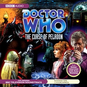 Doctor Who: The Curse of the Peladon audiobook cover art