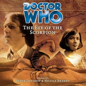 Doctor Who - The Eye of the Scorpion audiobook cover art