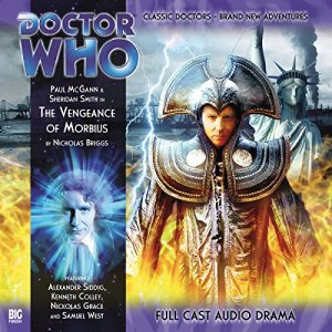 Doctor Who - The Vengeance of Morbius audiobook cover art