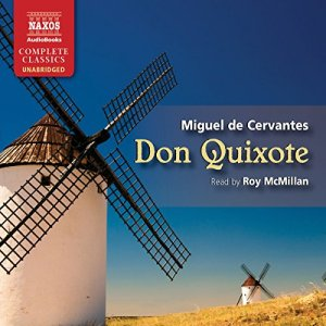 Don Quixote audiobook cover art