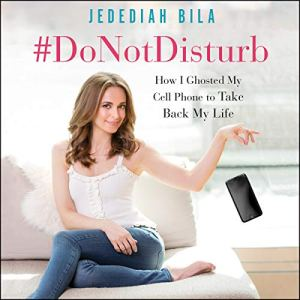 #DoNotDisturb audiobook cover art