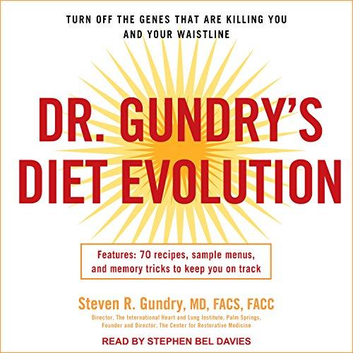 Dr. Gundry's Diet Evolution audiobook cover art