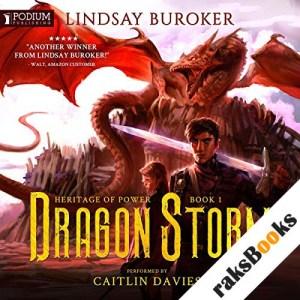 Dragon Storm audiobook cover art