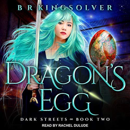 Dragon's Egg audiobook cover art