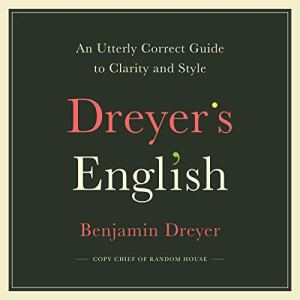 Dreyer's English audiobook cover art