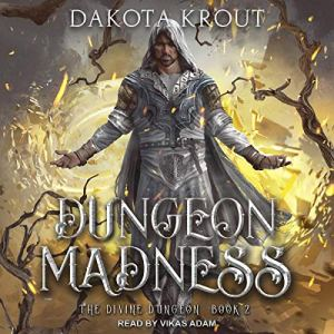 Dungeon Madness audiobook cover art