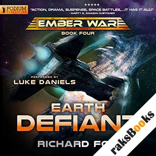 Earth Defiant audiobook cover art