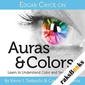 Edgar Cayce on Auras & Colors audiobook cover art