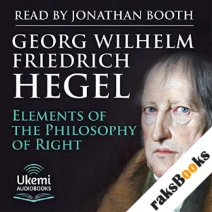 Elements of the Philosophy of Right audiobook cover art