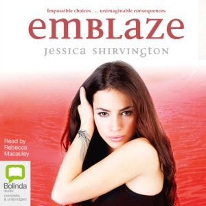 Emblaze audiobook cover art