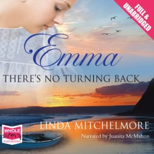Emma: There's No Turning Back audiobook cover art