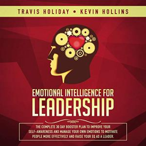 Emotional Intelligence for Leadership audiobook cover art