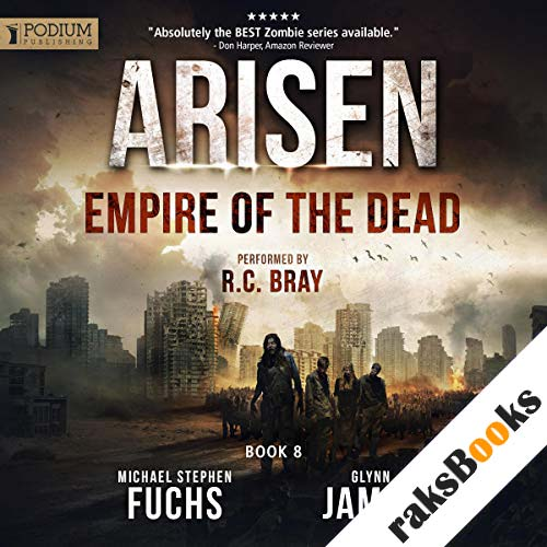 Empire of the Dead audiobook cover art