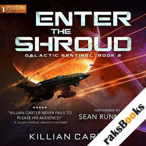 Enter the Shroud audiobook cover art