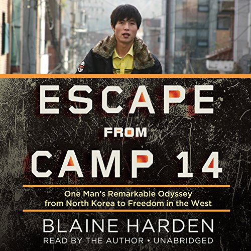 Escape from Camp 14 audiobook cover art