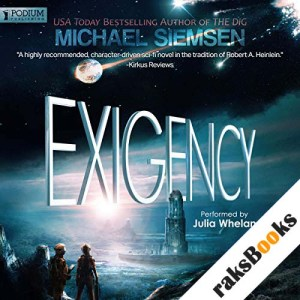 Exigency audiobook cover art