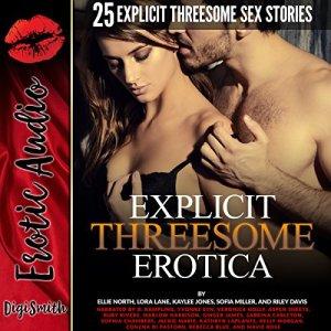Explicit Threesome Erotica audiobook cover art