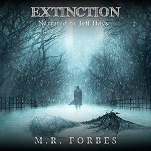 Extinction audiobook cover art