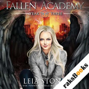 Fallen Academy: Year Three audiobook cover art