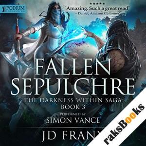 Fallen Sepulchre audiobook cover art