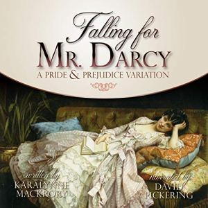Falling for Mr Darcy audiobook cover art
