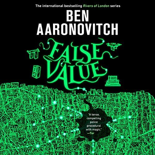 False Value audiobook cover art