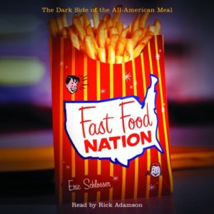 Fast Food Nation audiobook cover art