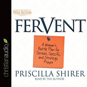 Fervent audiobook cover art