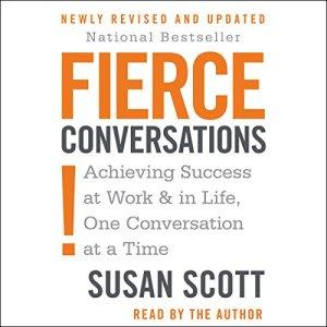 Fierce Conversations audiobook cover art