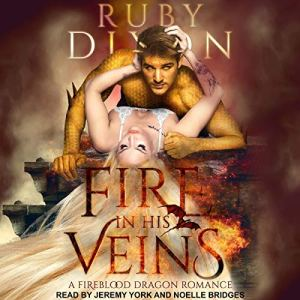Fire in His Veins audiobook cover art