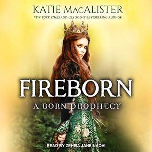 Fireborn audiobook cover art