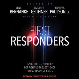 First Responders audiobook cover art