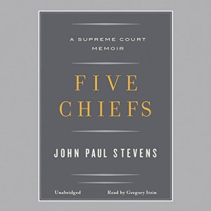 Five Chiefs audiobook cover art