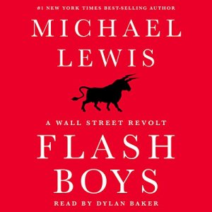 Flash Boys audiobook cover art