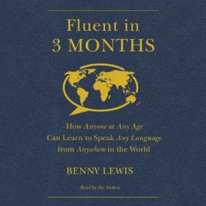 Fluent in 3 Months audiobook cover art