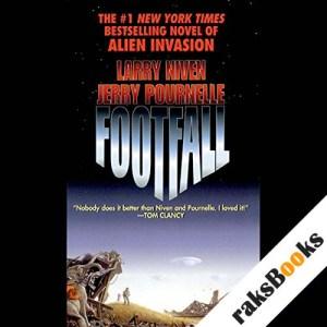 Footfall audiobook cover art
